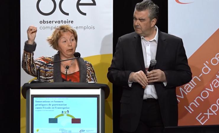Pierre Jacques et Maude Plourde – Arrimage entre le DEP et le PAMT en tôlerie de précision
