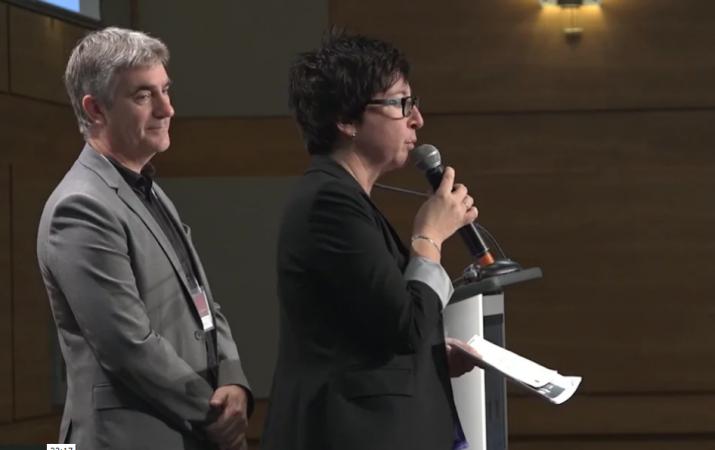 Réal Piché et Francine Lemay – Alternance travail-études en techniques d'usinage chez Marmen