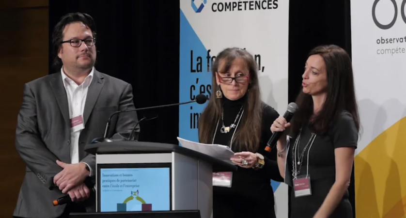 Odette Côté, Simon Chrétien, Sonia Vachon – Approche duale en plasturgie – projet pilote au Cégep de Thetford