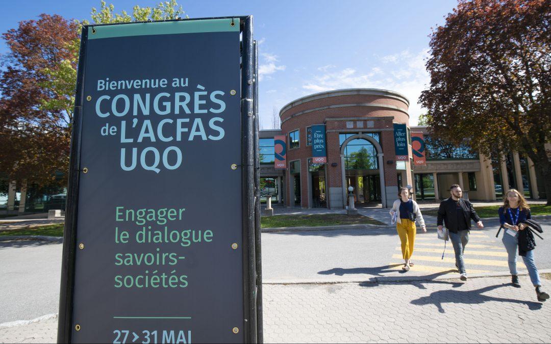 Participation de l'OCE au 87e congrès de l'ACFAS